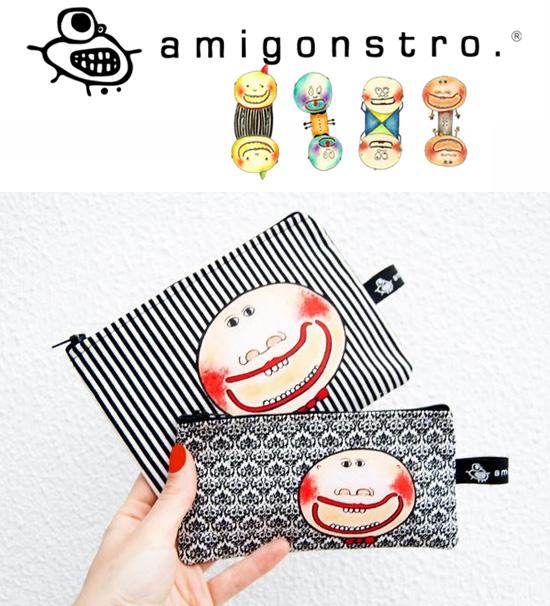 Amigonstro handmade purses  Amigonstro, accessories with puppets.
