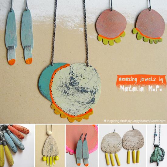 Natalia M P Handmade jewelry collage  Natalia Milosz Piekarska – Jewelry to Love