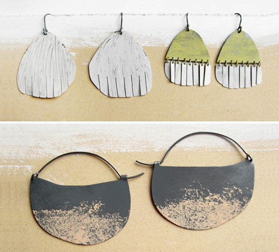 Natalia M P handmade earrings2  Natalia Milosz Piekarska – Jewelry to Love