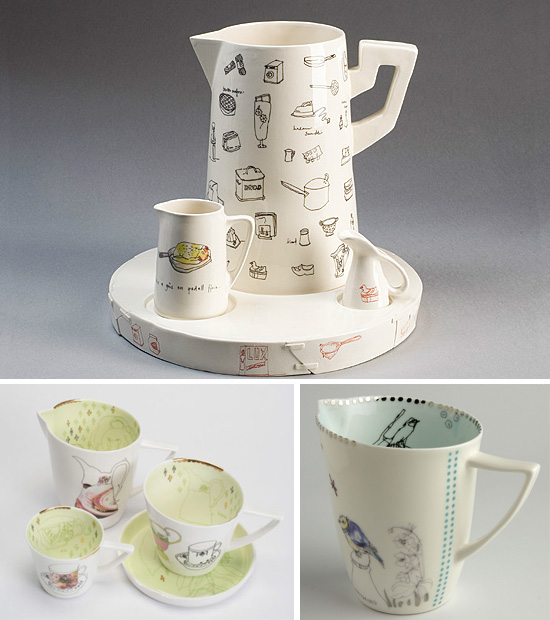 Handmade pottery by Lowri Davies  Handmade + Illustrated ceramics by Lowri Davies