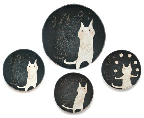 Handmade ceramics plates by Makoto Kagoshima  Ceramics with a Japanese heart: Makoto Kagoshima