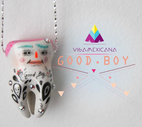 Handmade tooth by Visamexicana  Little handmade wonders by Visamexicana