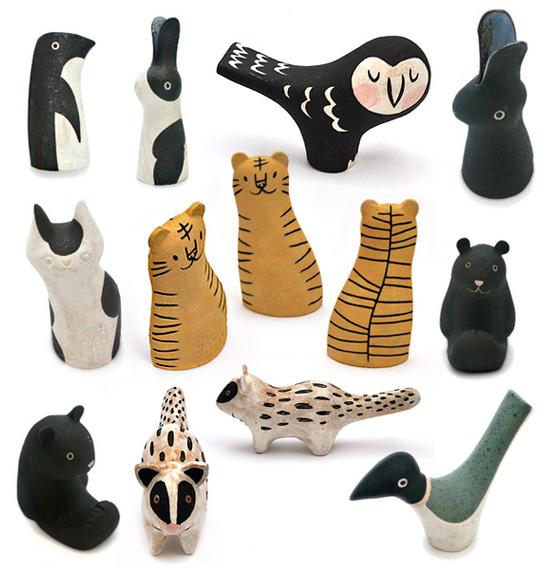 Makoto Kagoshima ceramic animals  Ceramics with a Japanese heart: Makoto Kagoshima
