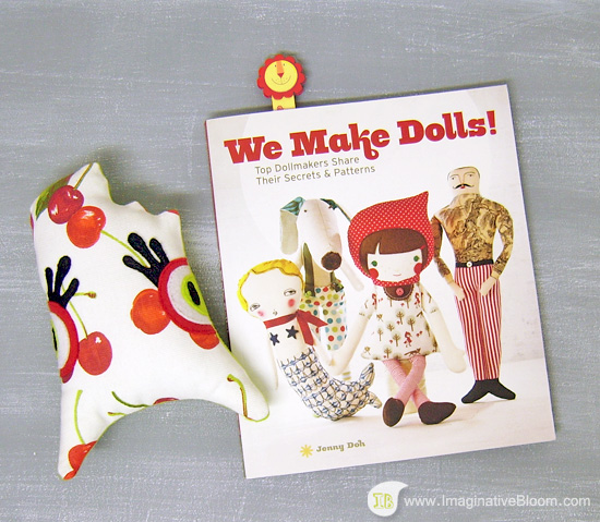 We Make Dolls cover Imaginative Bloom review  Book review: We make Dolls