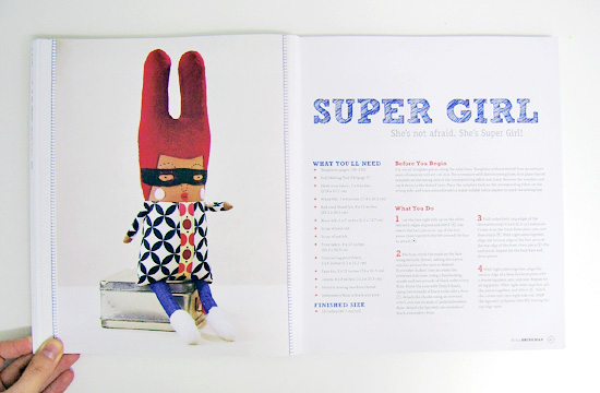We Make Dolls super girl  Book review: We make Dolls