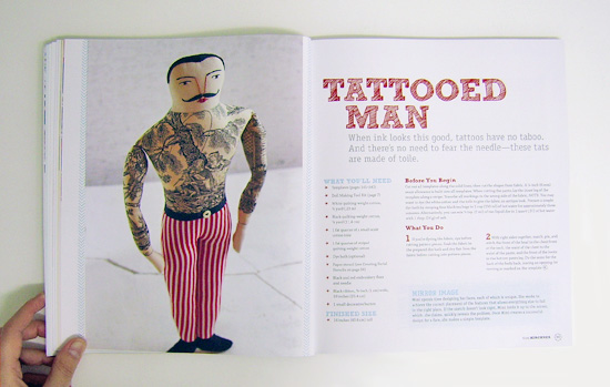 We Make Dolls tattooed man1  Book review: We make Dolls