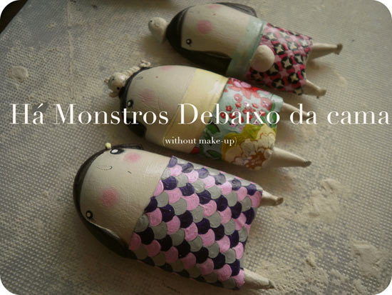 work in progress rvista  Friendly handmade monsters by Ana Salomé
