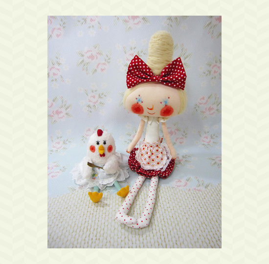 Handmade dolls 3 by Bruno  Sewn and embroidered dolls by Bruno