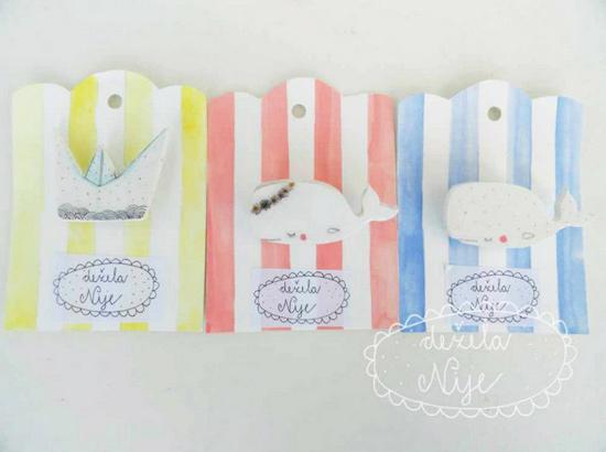 Handmade brooches by De ela Nije1  Delicate handmade by Dežela Nije