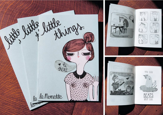 Little things illustrated by La Nonette Illustration  La Nonette Illustration by Manon Bijkerk