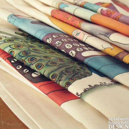 Ceridwen Hazelchild Design fabrics  Discovering Ceridwen Hazelchild Design