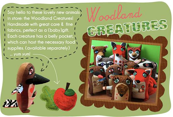 Stitched creatures 1  Stitched Creatures by Karin Emsbroek