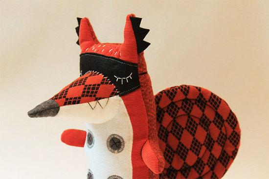Stitched creatures12  Stitched Creatures by Karin Emsbroek