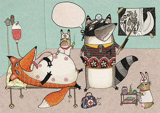 Stitched creatures14  Stitched Creatures by Karin Emsbroek