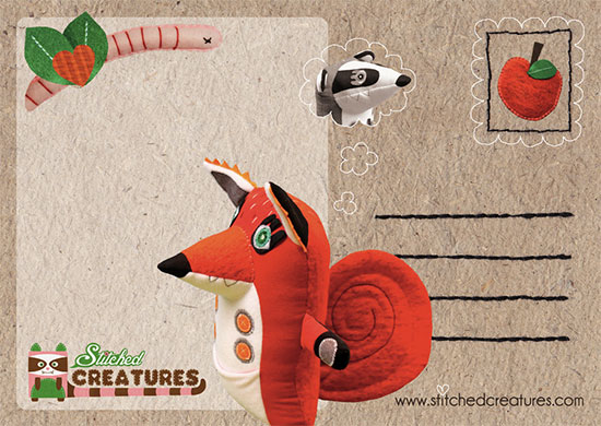 Stitched creatures5  Stitched Creatures by Karin Emsbroek