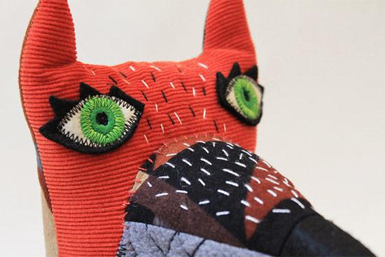 Stitched creatures9  Stitched Creatures by Karin Emsbroek