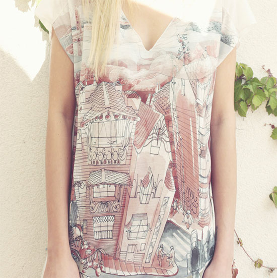 T shirt by MiClo 1  Mi Clo, illustrations and printed things