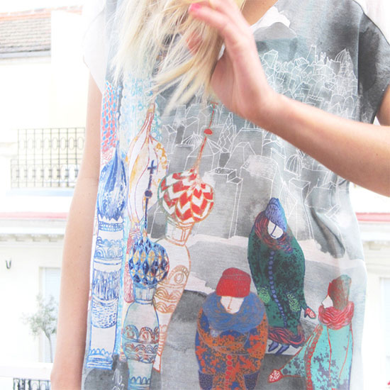 T shirt by MiClo 2  Mi Clo, illustrations and printed things