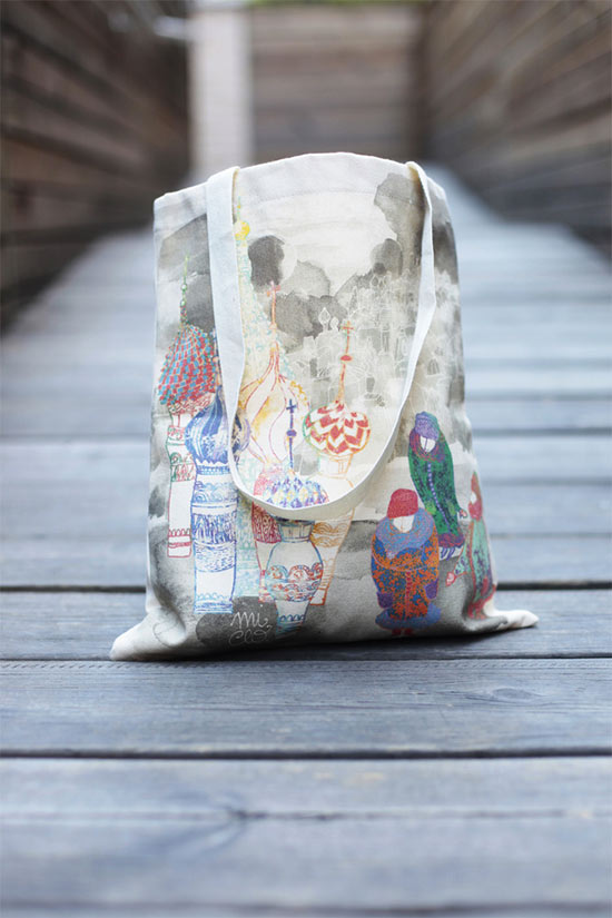 Tote bag by MiClo  Mi Clo, illustrations and printed things