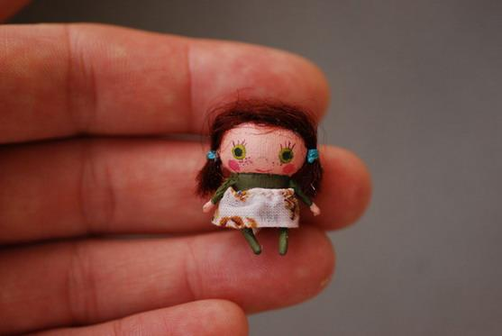 Mini doll 3 by Dollitude  Tiny imaginary friends by Dollitude