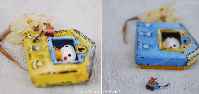 boxes 2 by Dollitude  Tiny imaginary friends by Dollitude