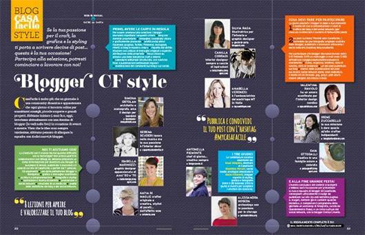 1  Diventa Blogger CF Style con CasaFacile